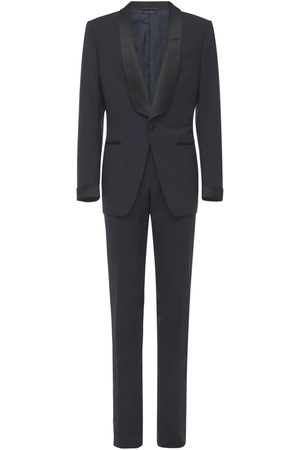 Tom Ford Herren Anzüge - Plain Weave Evening Wool Suit