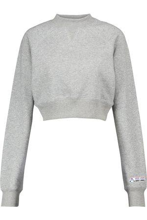 Adam Selman Sport Sweatshirt aus einem Baumwollgemisch