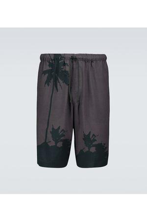 DRIES VAN NOTEN Bedruckte Shorts