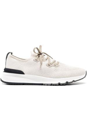 Brunello Cucinelli Herren Sneakers - Sneakers mit perforiertem Detail