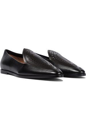 Alaïa Damen Halbschuhe - Loafers aus Leder