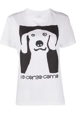 10 CORSO COMO T-Shirt mit grafischem Print