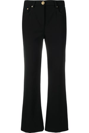 Moschino Halbhohe Bootcut-Jeans