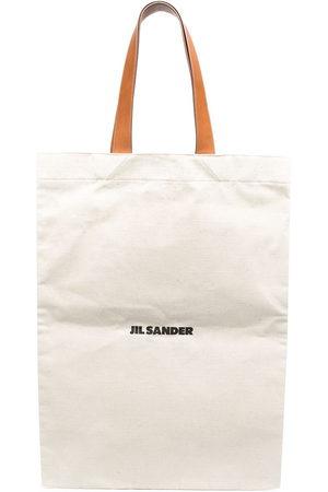 Jil Sander Maxi-Shopper mit Logo