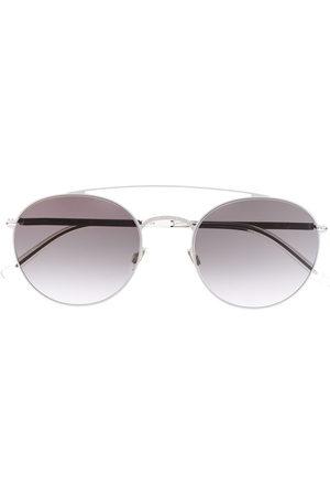 MYKITA Mirrored round-frame sunglasses