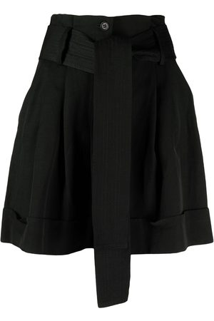 P.a.r.o.s.h. Belted wide-leg shorts
