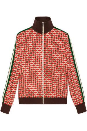 Gucci G geometric jacquard jacket