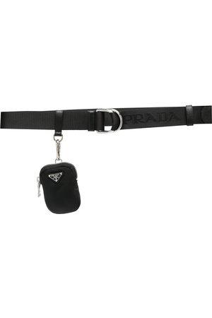 Prada Logo pouch belt