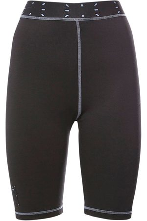"McQ Damen Shorts - Radlerhose Aus Technostoff & Jersey ""collection 0"""