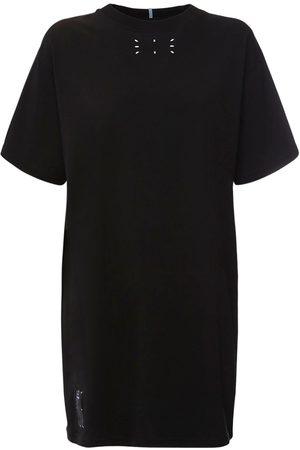 """McQ T-shirt-kleid Aus Baumwolljersey """"collection 0"""""""