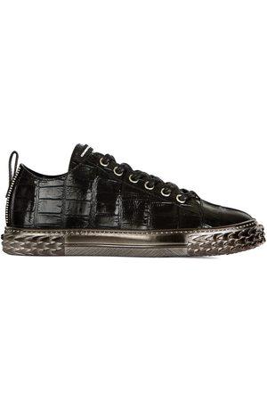 Giuseppe Zanotti Croco-embossed sneakers