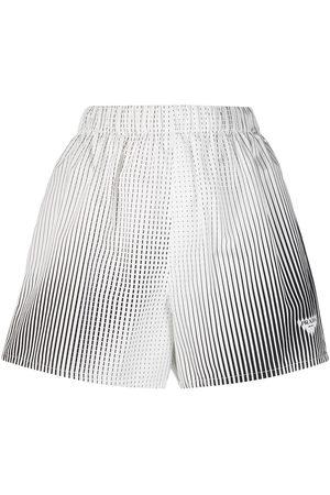Prada Vertical-stripe shorts