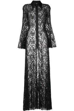 Natasha Zinko Damen Bedruckte Kleider - Spitzenkleid mit Blumenmuster
