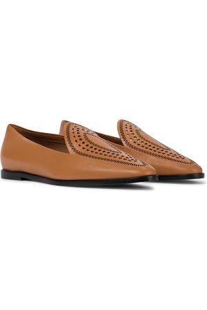Alaïa Loafers aus Leder