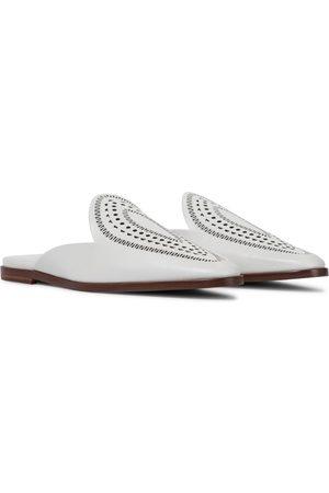 Alaïa Damen Halbschuhe - Slippers aus Leder