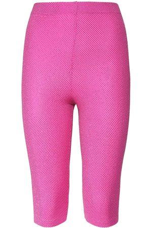 ALEXANDRE VAUTHIER Embellished Viscose Stretch Pants