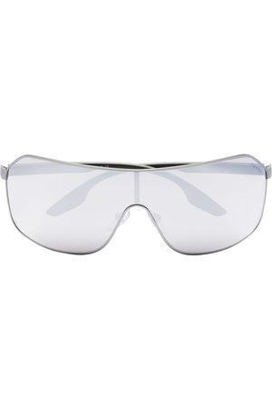 Prada Pilotenbrille mit verspiegelten Gläsern