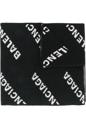 Balenciaga Herren Schals - Schal mit Logo