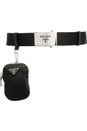 Prada Detachable purse buckle belt