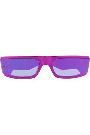 Retrosuperfuture Sonnenbrillen - Sonnenbrille mit eckigem Gestell