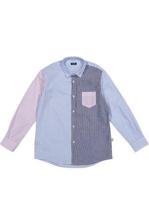 Il gufo Gestreiftes Hemd aus Baumwolle