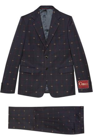 Gucci Anzug aus GG Wolle