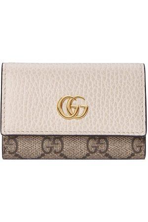 Gucci Damen Geldbörsen & Etuis - GG Marmont Schlüsseletui - Nude