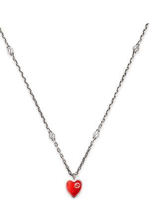 Gucci Halskette mit GG-Herzanhänger