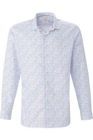 Olymp Herren Hemden - Hemd Kent-Kragen weiss