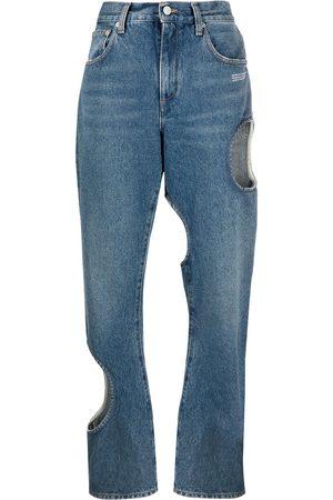 OFF-WHITE Damen Baggy & Boyfriend - Baggy-Jeans