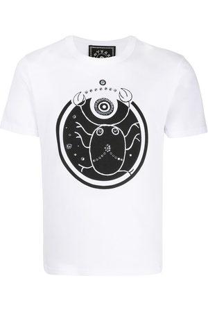 10 CORSO COMO T-Shirt mit Krebs-Print