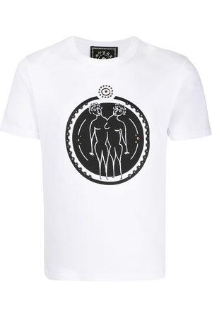 10 CORSO COMO T-Shirt mit Zwillinge-Print