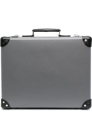 10 CORSO COMO Koffer mit Lederbesatz