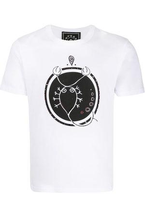 10 CORSO COMO T-Shirt mit Skorpion-Print