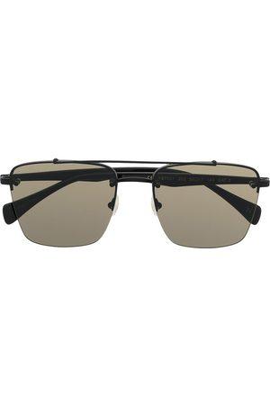 YOHJI YAMAMOTO Eckige YS7 Sonnenbrille