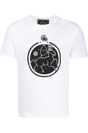 10 CORSO COMO T-Shirt mit Schütze-Print