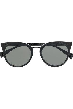 YOHJI YAMAMOTO Cat-Eye-Sonnenbrille