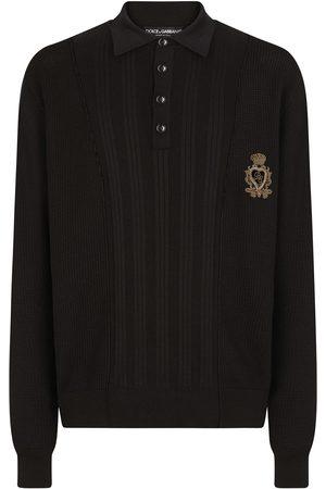 Dolce & Gabbana Geripptes Poloshirt