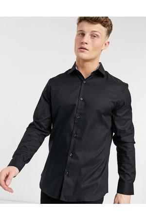 Selected – Leicht zu bügelndes, elegantes und schmal geschnittenes Hemd in
