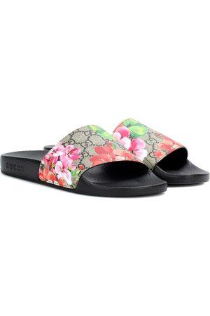 Gucci Damen Clogs & Pantoletten - Pantoletten GG Blooms