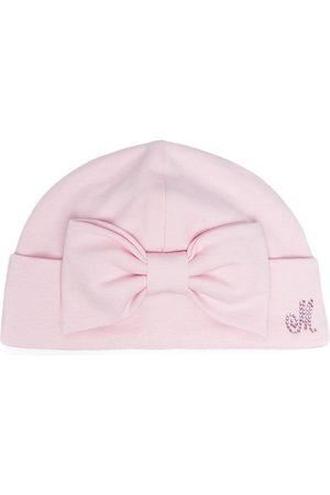 MONNALISA Bow-detail hat