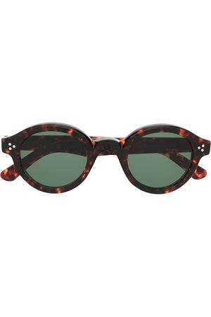 LESCA Runde Corbs Sonnenbrille