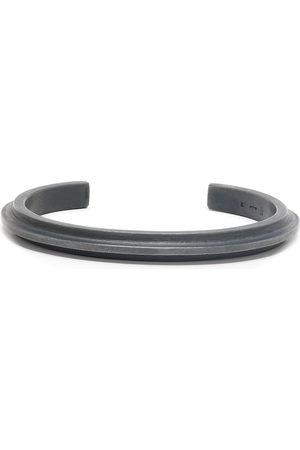 PARTS OF FOUR Ridge-edge cuff bracelet - Metallisch