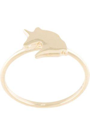 Karen Walker Damen Ringe - 9kt Unicorn Goldring