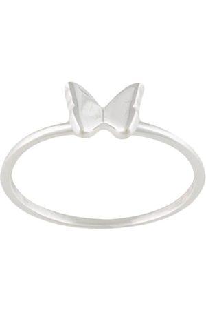 Karen Walker Ring mit mini Schmetterling