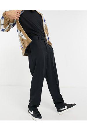 ASOS – Schmal geschnittene, elegante Hose in mit hohem Bund