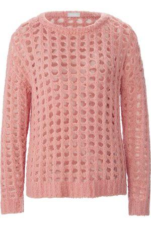 include Damen Strickpullover - Rundhals-Pullover rosé