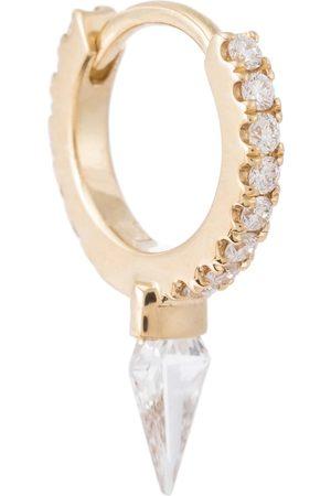 Maria Tash Creolen Spike Eternity aus 18kt Gelbgold mit Diamanten