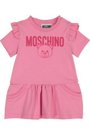 Moschino Baby Kleider - Baby Kleid aus Stretch-Baumwolle