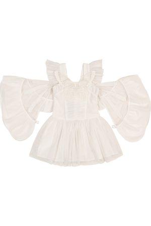 Stella McCartney Verziertes Kleid aus Tüll